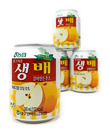 NH Crushed Pear Juice 240ml