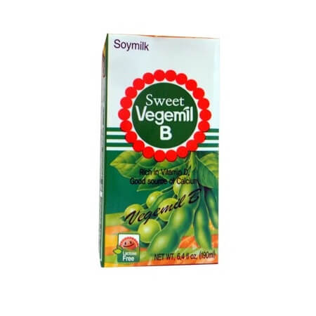 DCF Vegemil B Soya Milk 190ml