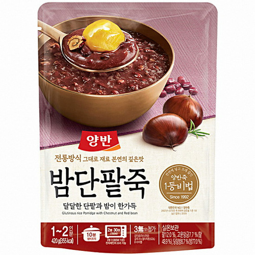 DW Chestnut Sweet Bean Porridge 420g