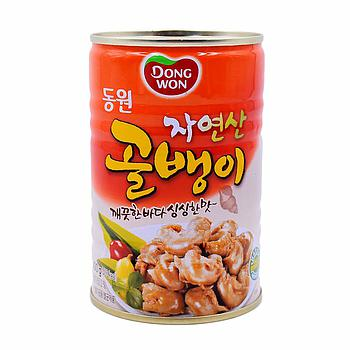 Dongwon Bai-Top Shell Meat (Whelk) Can 400g