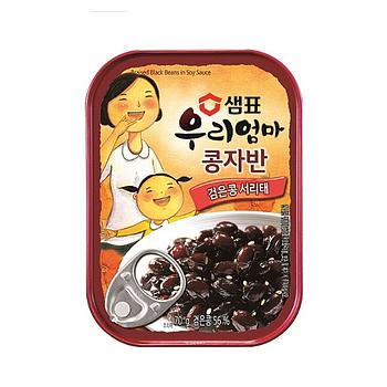 Sempio Black Bean in Soy Sauce Can 70g