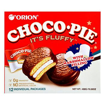 Orion Choco Pie with Marshmallow (12pcs) 468g