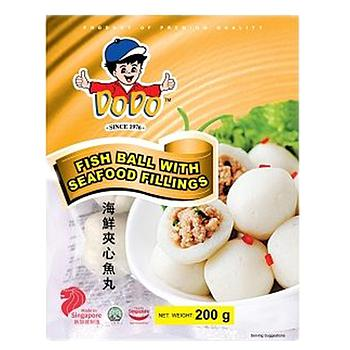 DoDo Seafood Filling Fish Ball 200g